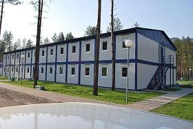 Быстровозводимые мобильные здания (фотография)