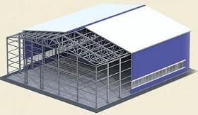 Металлические быстровозводимые здания (фотография)