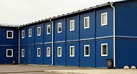 Металлические быстровозводимые здания (фото)