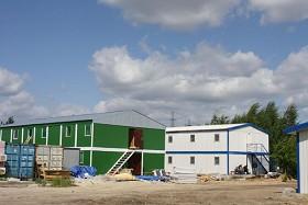 Строительство мобильных сооружений (фото)